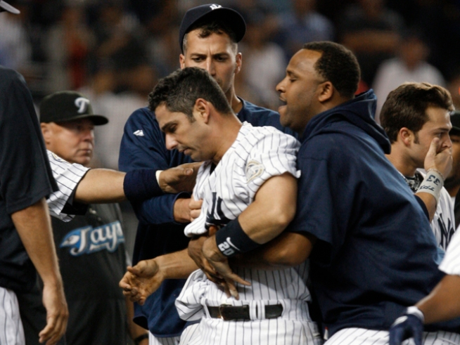 Jorge Posada Should Know Better, Deserves Suspension