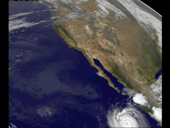Hurricane Threatens Baja