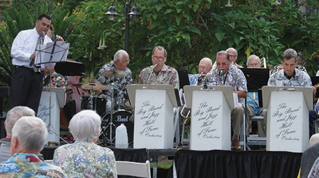 Big Band in the Botanic Garden