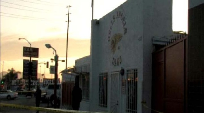 SWAT Team Raids Hells Angels Clubhouse