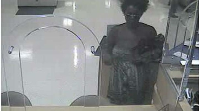 Woman Suspected in 2 Bank Robberies