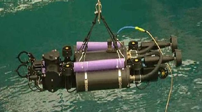 Robots Dive into Navy Pool