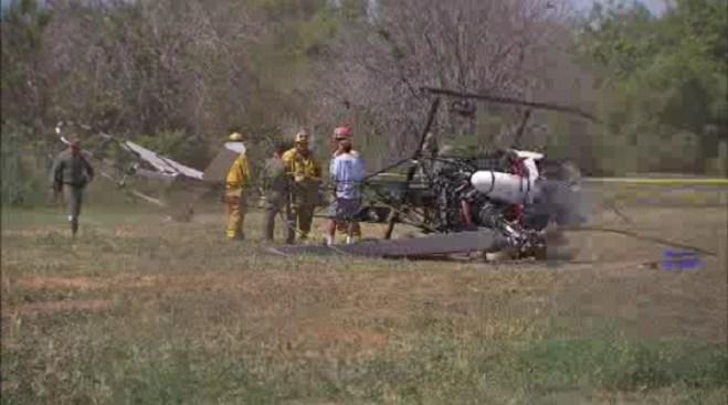 2 Injured After Helicopter Makes Emergency Landing