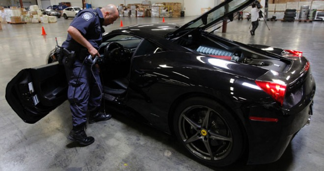 Ferrari 458 Italia, Lamborghini Aventador Among Stolen Cars Seized at Port