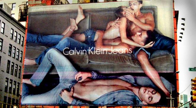 Three's a Crowd, Four's a Calvin Klein Ad in SoHo