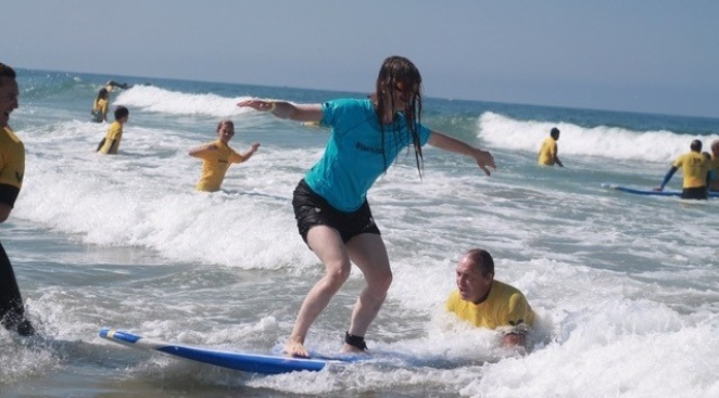 Visually Impaired to Enjoy Surf Day at the Beach