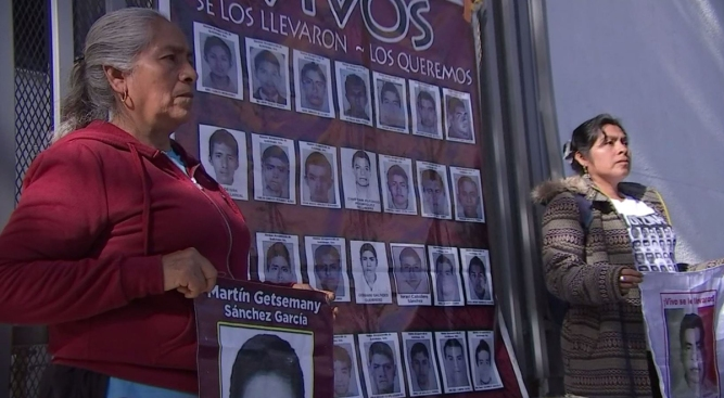 Mothers of Missing Students Want Answers from Mexico's President