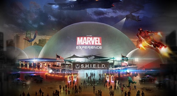 Flying for Del Mar: The Marvel Experience