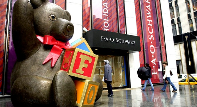 Iconic Toy Store FAO Schwarz in NYC Closing in July