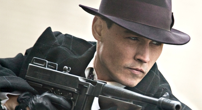 "Hat Maker Tops Depp's ""Public Enemies"""