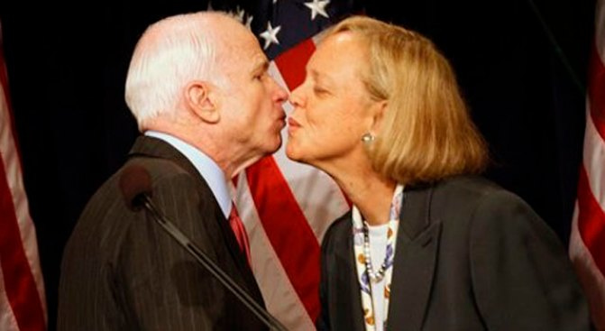 McCain Gives Whitman Guv Love