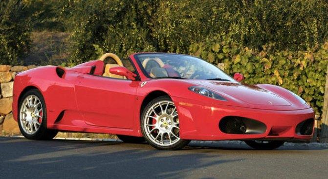 Woman Flips Boss's Ferrari