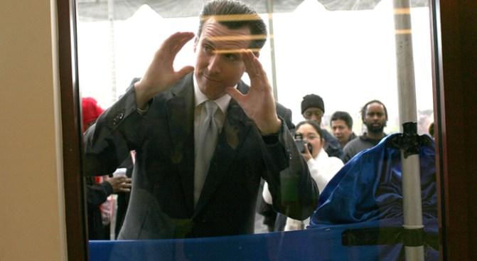 Mayor Newsom Suffers a Howard Dean Relapse