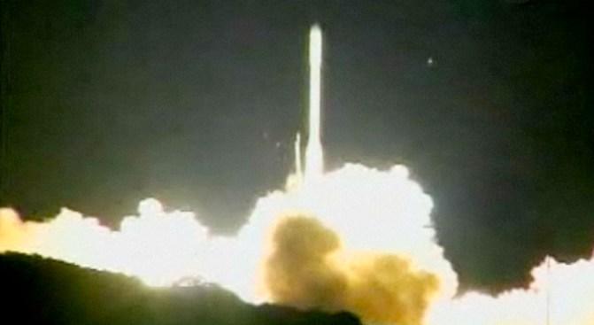 NASA Satellite Crashes Back to Earth