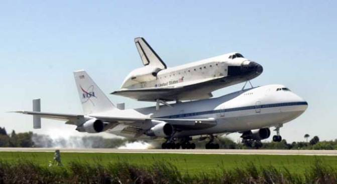 Museum Hopes Space Shuttle Lands in San Diego