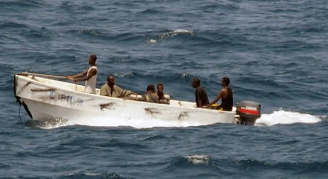 Pirates Fire at U.S. Navy Ship