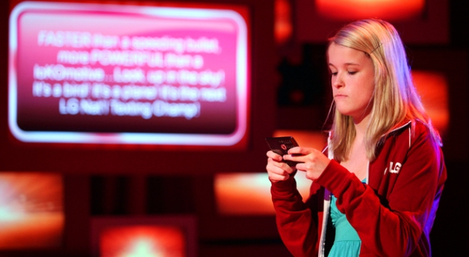 OMG! Teen is Nation's Top Texter