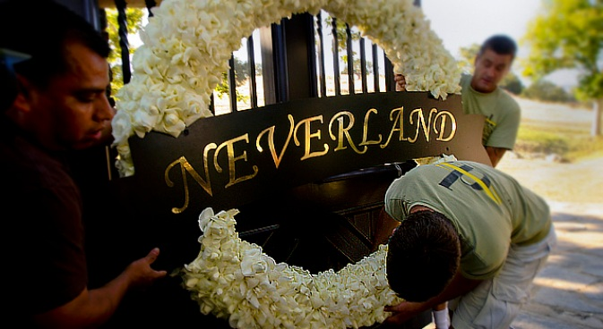 Will Michael Jackson's Neverland Move To Las Vegas?