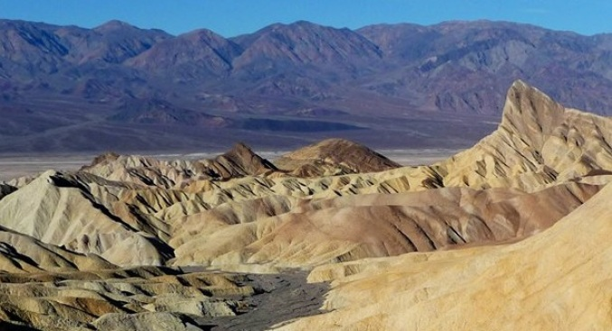 Re-Opened: Death Valley's Zabriskie Point