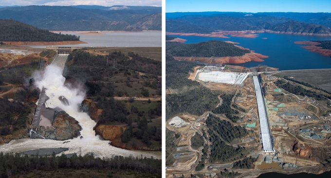 [LA GALLERY Updated 3/2019] Photos: What It Takes to Repair a Damaged Spillway at the Nation's Tallest Dam