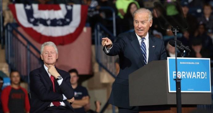 Bill Clinton, Joe Biden Fire Up Ohio Crowd