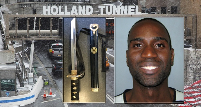 Driver Wields Samurai Sword in NYC Tunnel Traffic: Police