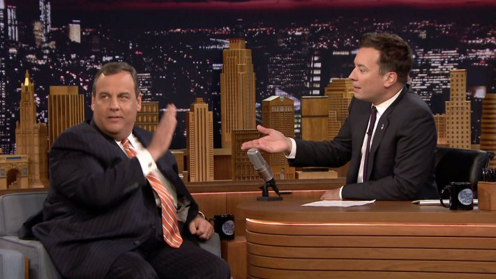Chris Christie Talks Desserts With Jimmy Fallon