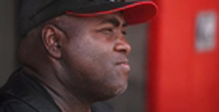 Tony Gwynn Standing, Laughing After Surgery