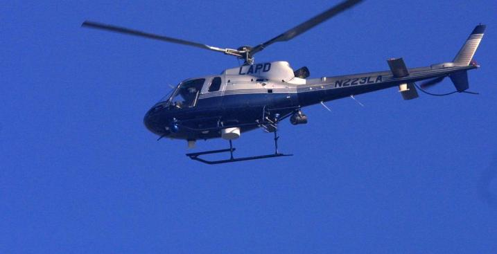 LAPD Helicopter Takes Gunfire, Arrest Made