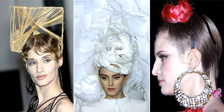 See Chanel's Paper Hats and More Couture Details