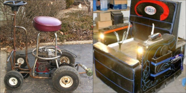 Driving Motorized Beer Cooler Gets Aussie DUI