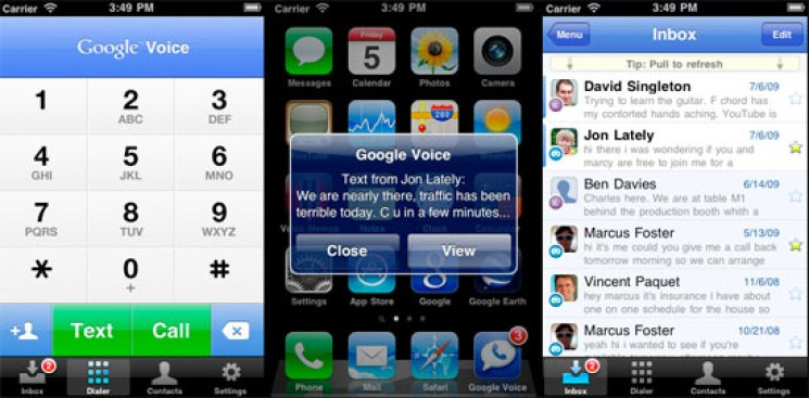 Google Voice Finally Comes to the iPhone