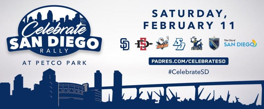 "Padres to host ""Celebrate San Diego Rally"""