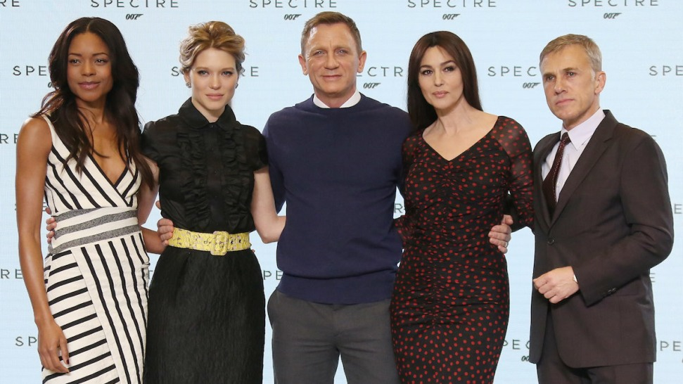 "Daniel Craig Returns as James Bond in ""Spectre,"" Monica Belluci, Lea Seydoux and Christoph Waltz Join"