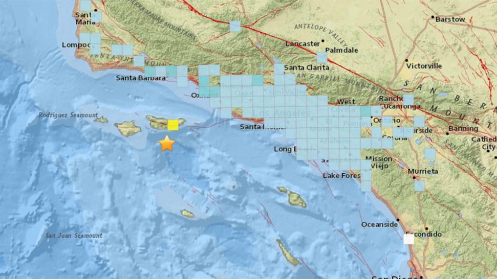 5 3 Magnitude Earthquake Shakes Southern California Nbc 7 San Diego