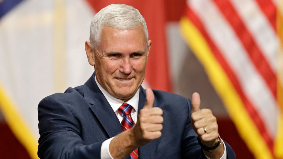 Mike Pence Campaigns in Pennsylvania