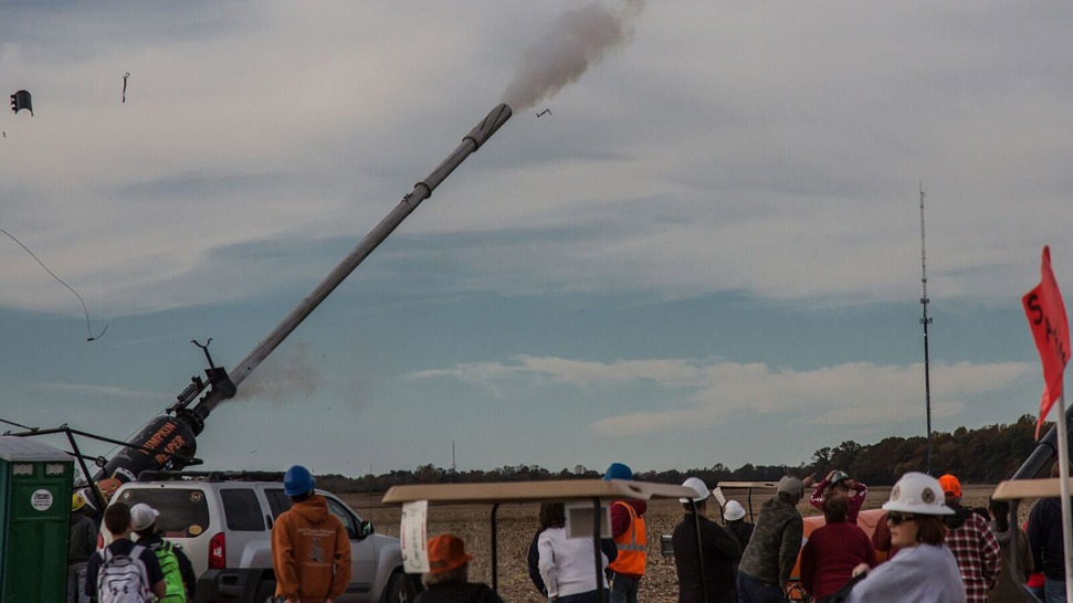 Explosion Injures 2 at Pumpkin Flinging Contest