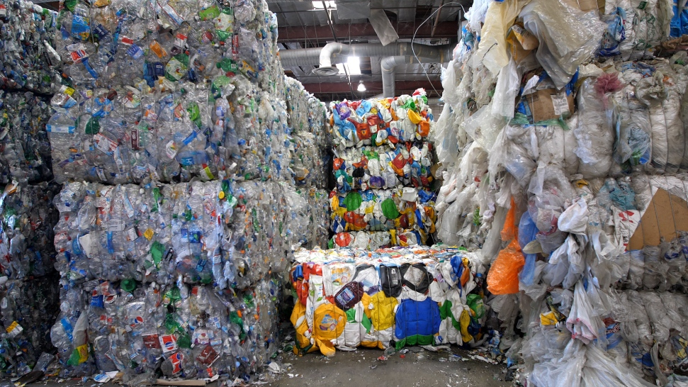 03359967a7c Recycling Breaks Down  US Struggles to Keep Plastic From the Dump ...
