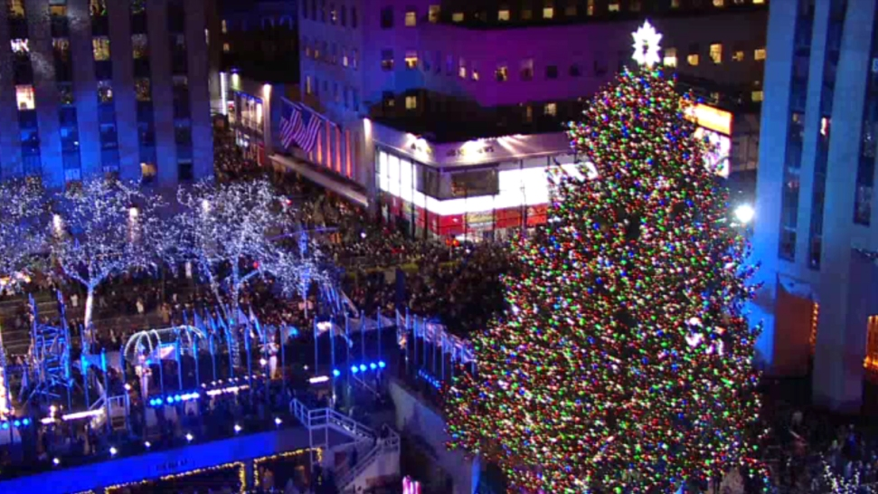 WATCH LIVE: The Rockefeller Center Christmas Tree