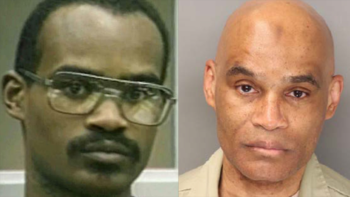 A file image of Alvin Quarles (L) and a recent image provided by the San Diego County District Attorney's Office.