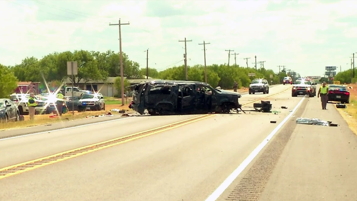 Authorities said five undocumented immigrants are dead following a chase involving Border Patrol agents.