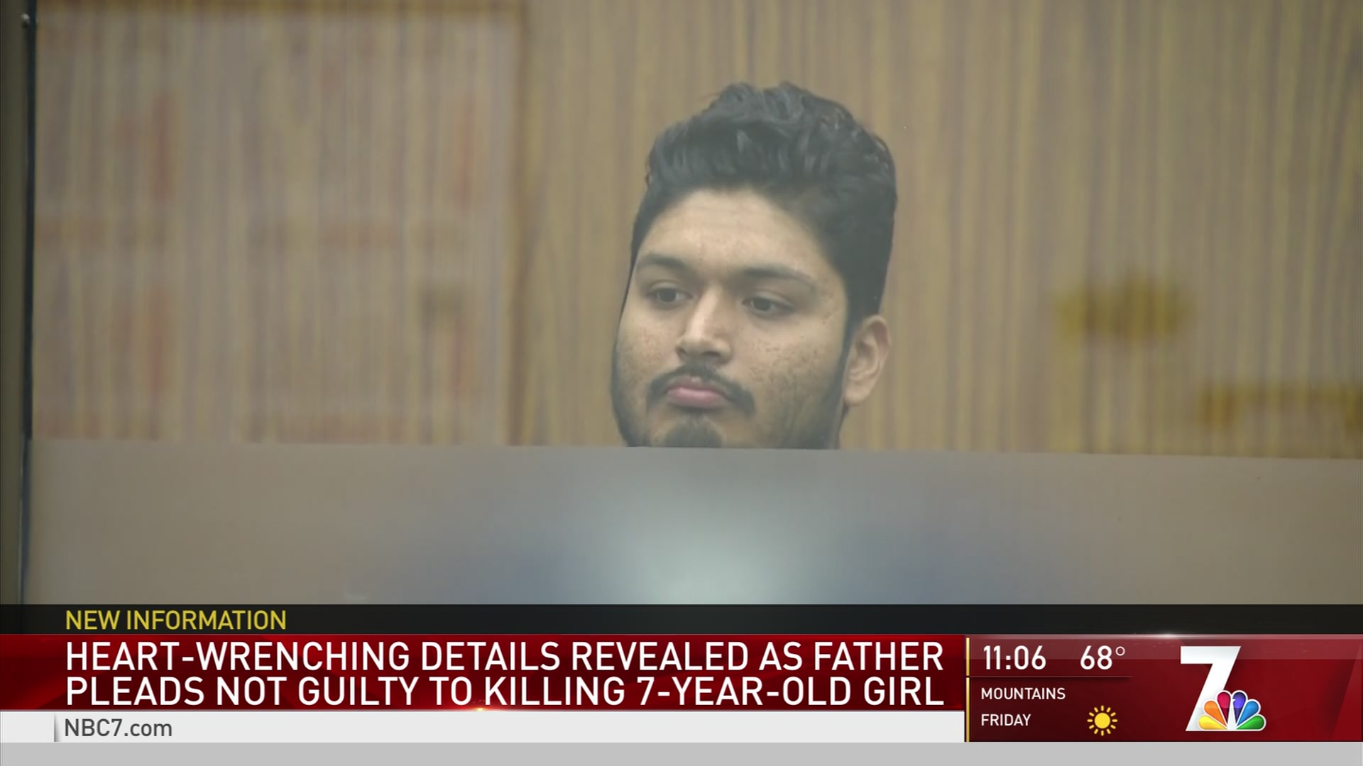 Father Pleads Not Guilty in Stabbing Death of Daughter