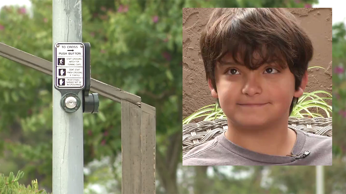 Chula Vista resident Hector Fimbres, 11, was struck by a hit-and-run driver at Brandywine Avenue and Sequoia Street on Nov. 19, 2018.