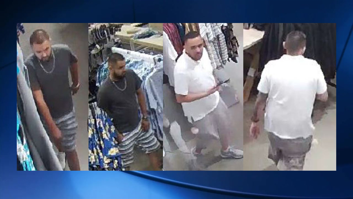 The two suspects in this identity theft case were captured on surveillance video.