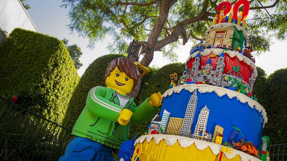 All year long in 2019, LEGOLAND California Resort will offer free admission to kids age 12 and under on their birthdays.