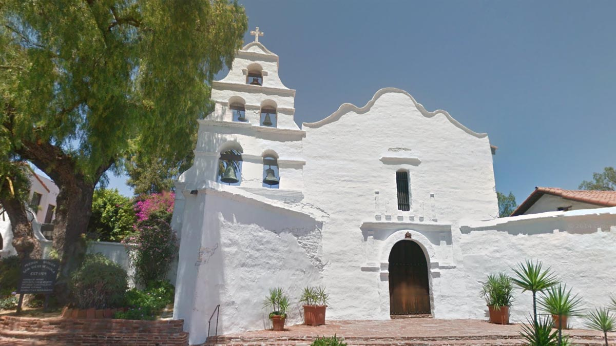 Visit California's First MissionThe first of the 21 great California Missions, the  Mission Basilica San Diego de Alcala  is definitely worth a visit. Nestled at 10818 San Diego Mission Rd., the mission church has a visitor's center and gift shop that is open daily from 9 a.m. to 4:30 p.m. Mass is held daily at the historic site as well, at 7 a.m. and 5:30 p.m. on weekdays, and at 5:30 p.m. Saturday. On Sundays, mass is held on the hour from 7 a.m. to noon, and again at 5:30 p.m. The Mission Basilica was founded in 1769 and represents more than two centuries of California history.