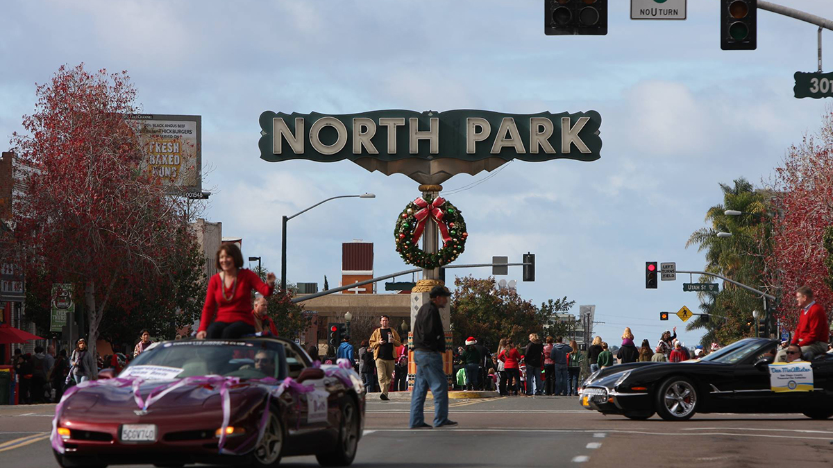The North Park Toyland Parade ushers in the holiday season for that community in uptown San Diego.