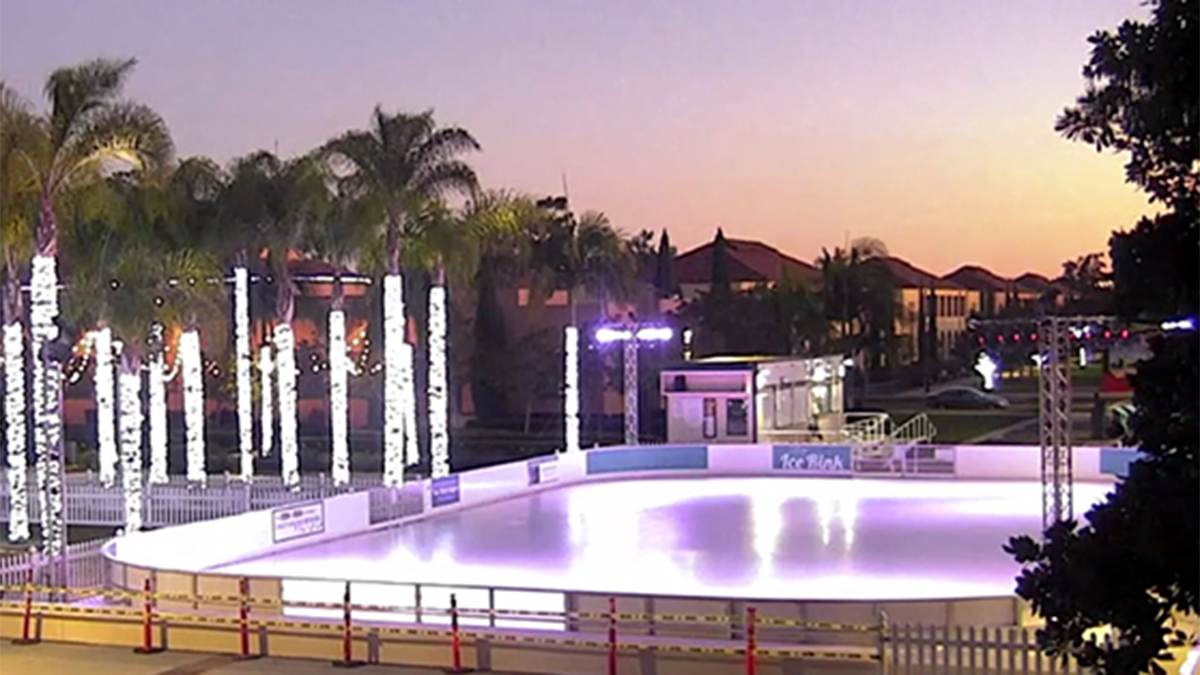 This season's Rady Children's Ice Rink at Liberty Station is open from Nov. 17, 2018, to Jan. 6, 2019.