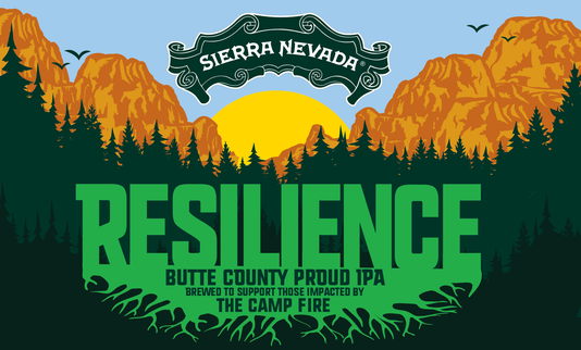 The brewing Resilience Butte County Proud IPA.