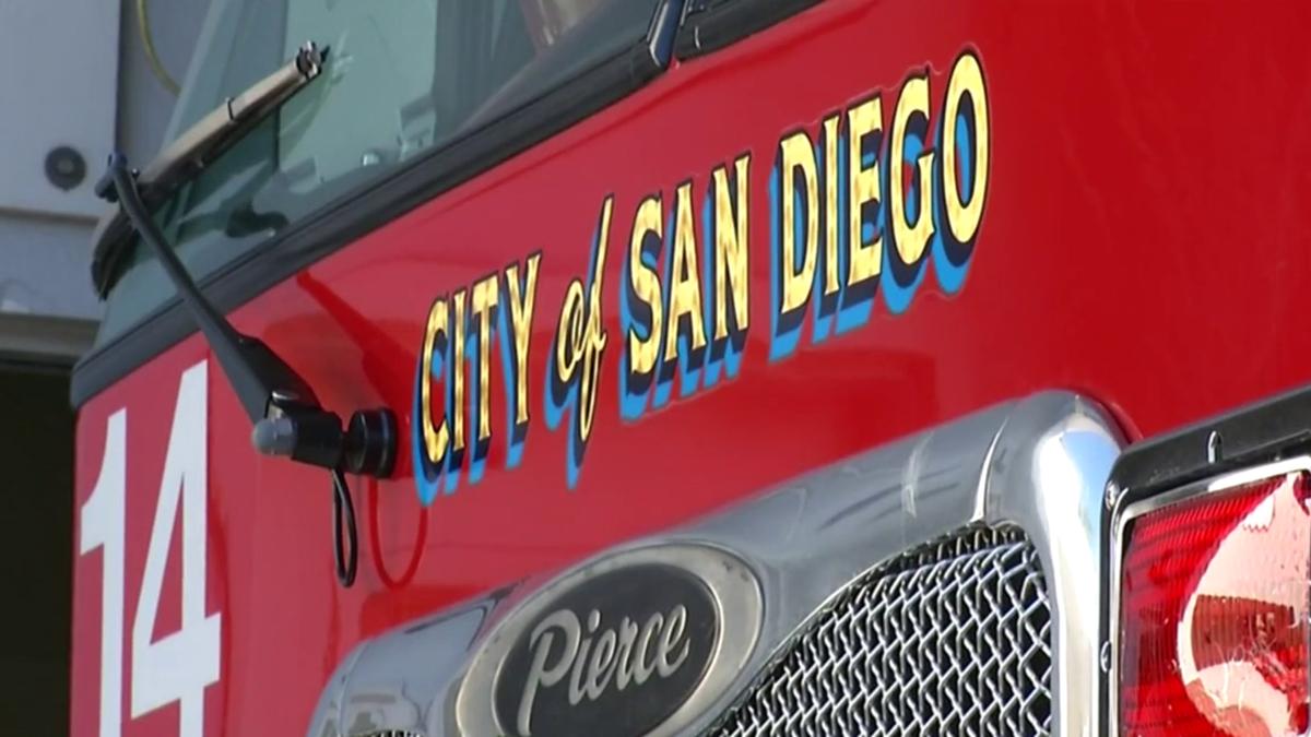 San Diego Fire Rescue Department engine